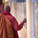 tibetan prayer wheels, dalai lama's temple