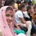 girl at festival - nepal