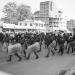 changing of the guard - kathmandu. nepal