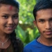 boy and girl orphans - pokhara, nepal