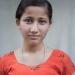 orphan girl portrait - nepal