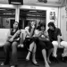 youth on a train - bangkok